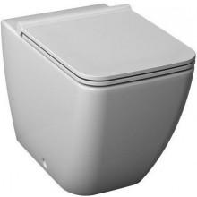 JIKA PURE samostatně stojící WC mísa 355x450x430mm, kapotovaná ke stěně, hluboké splachování, vario odpad, bílá