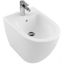 VILLEROY & BOCH SUBWAY 2.0 bidet 370x560mm, s přepadem, Bílá Alpin CeramicPlus