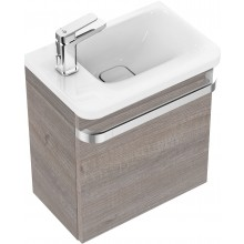 IDEAL STANDARD TONIC II skříňka 450mm pod umývátko, levá, dekor světle šedý dub, R4318FE