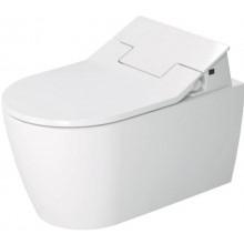 AKČNÍ SET DURAVIT ME BY STARCK závěsné WC 373x570mm s hlubokým splachováním Rimless a bidetovacím sedátkem, bílá