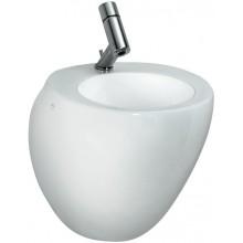 LAUFEN IL BAGNO ALESSI ONE umývátko 665x420mm s otvorem, včetně odpadního a přepadového ventilu, bílá LCC 8.1597.0.400.104.1