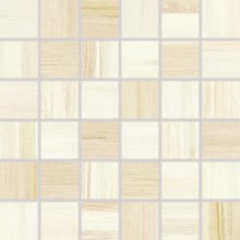 Obklad Rako Charme mozaika 5x5 (30x30) cm béžová