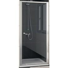 SANSWISS ECO LINE ECOP sprchové dveře 900x1900mm jednokřídlé, matný elox/sklo Durlux