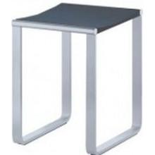KEUCO PLAN koupelnová stolička 340x365mm, chrom/tmavě šedá