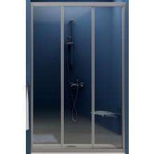 RAVAK SUPERNOVA ASDP3 80 sprchové dveře 770-810x1880mm třídílné, posuvné, satin/pearl 00V40U0211