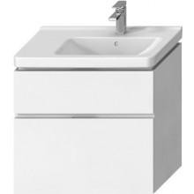 JIKA CUBITO-N skříňka pod umyvadlo 740x426x683mm, 2 zásuvky, výřez vlevo, bílá