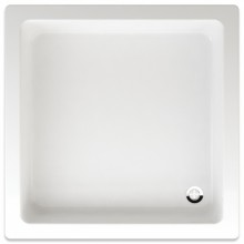TEIKO LIBRA sprchová vanička 90x90x15cm, čtverec, akrylát, bílá