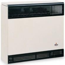 KARMA BETA 4 ELECTRONIC 01 plynové topidlo 3,9kW závěsné, spínací hodiny, odtah přes zeď, slonová kost