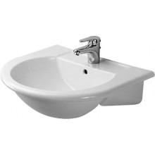 Umyvadlo nábytkové Duravit - Darling 61,5x54,5 cm bílá