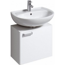 KERAMAG RENOVA NR. 1 skříňka pod umyvadlo 53x45x31cm, závěsná, bílá/bílá lesklá 800550000