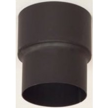 Přechodka kouřovodu 120/130mm, 1,5mm, ocel, černá