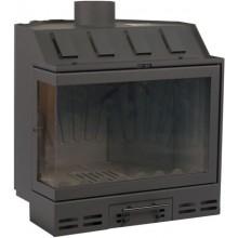 KRETZ A 308 krbová vložka 8-14kW, teplovzdušná, s děleným rohovým sklem