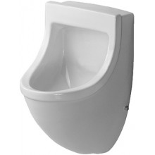 DURAVIT STARCK 3 urinal 330x350mm s přítokem zezadu, bílá 0821350000