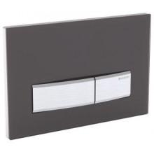 GEBERIT SIGMA 50 ovládací tlačítko 24,6x1,4x16,4cm, sklo hnědé