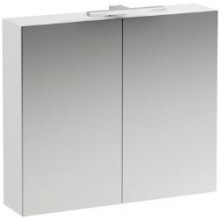 LAUFEN BASE zrcadlová skříňka 800x185x700mm, s osvětlením, bílá lesk