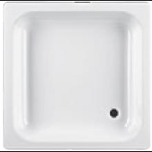 JIKA SOFIA ocelová sprchová vanička 800x800mm čtvercová, bílá