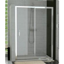 Zástěna sprchová dveře Ronal sklo TOP-line 1400x1900 mm bílá/čiré AQ