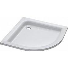 Vanička plastová Kolo čtvrtkruh Standard Plus 90x90 cm bílá