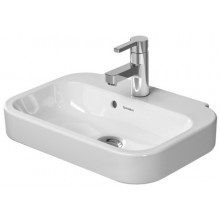 Umývátko klasické Duravit s otvorem Happy D.2 50x36 cm bílá