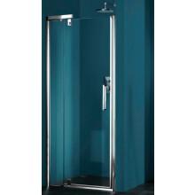 Zástěna sprchová dveře Huppe sklo Refresh 800x1928mm, do niky stříbrná lesk/čiré+AP