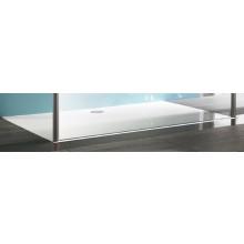 Vanička litý mramor Huppe obdélník Manufaktur Easy Step 110x100 cm bílá