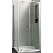 CONCEPT 100 NEW sprchové dveře 900x1900mm lítací, stříbrná matná/čiré sklo AP, PTA20905.087.322