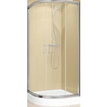 RIHO HAMAR sprchová zástěna 880x1950mm, čvrtkruh, hlíník/sklo