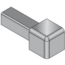 SCHLÜTER SYSTEMS QUADEC-A/ED roh 10mm vnější, elox hliník-lesklý chrom
