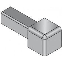 SCHLÜTER SYSTEMS QUADEC-A/ED roh 8mm vnější, hliník přírodní-matně eloxovaný