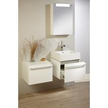Nábytek skříňka s umyvadlem Lebon Jolly 59x50(36)x45,5 cm bílá lesklá