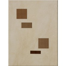 IMOLA ORTONA dekor 25x33,3cm beige, ATRI B1