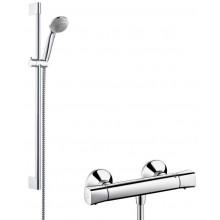 HANSGROHE ECOSTAT UNIVERSAL sada termostatická baterie/ruční sprcha Crometta 85 Vario chrom 27058000