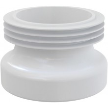 CONCEPT WC manžeta přímá, bílá
