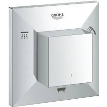 GROHE ALLURE BRILLIANT ventil 100x40x100mm, pěticestný, vrchní díl, chrom