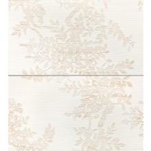 Dekor Rako Wenge set (2 ks) 25x45 cm bílá