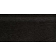RAKO GEO schodovka 30x60cm, černá