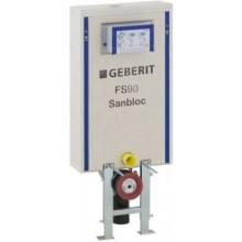 GEBERIT SANBLOC předstěnový modul pro WC 51x17x116cm