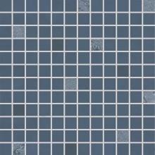 RAKO UP mozaika 30x30cm, lepená na síťce, tmavě modrá