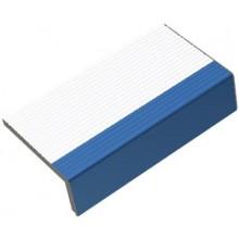 RAKO POOL schodovka 19,7x11,5cm, signální hrana, bílá-tmavě modrá
