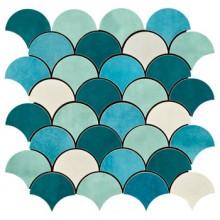 IMOLA SHADES mozaika 30x30cm white
