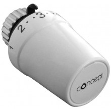 CONCEPT HPT100-30 termostatická hlavice M30x1,5, bílá