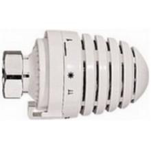 HERZ DESIGN termostatická hlavice M28x1,5, 6-28°C, s kapalinovým čidlem (hydrosnímač), bílá
