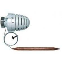 HERZ DESIGN H termostatická hlavice M30x1,5, kapilára 2000mm, s příložným čidlem, bílá