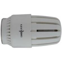 HERZ HERZCULES termostatická hlavice M30x1,5, 10K, v masivním provedení, bílá