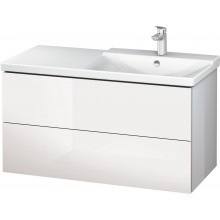 DURAVIT L-CUBE skříňka pod umyvadlo 1020x481x555mm závěsná, bílá vysoký lesk