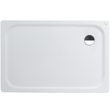 LAUFEN PLATINA sprchová vanička 1200x800mm ocelová, obdélníková, s protihlukovou izolací, bílá