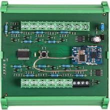 SANELA SLZA 17 rozdělovač tlačítek 24V DC, na lištu