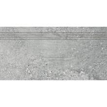 RAKO STONES schodovka 30x60cm, šedá