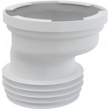 CONCEPT dopojení k WC excentrické, bílá
