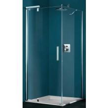 Zástěna sprchová dveře Huppe sklo Refresh pure Akce 900x2043 mm titanová stříbrná/čiré AP
